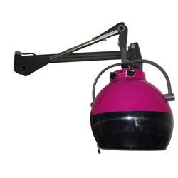 wave wall hair dryer (purple)
