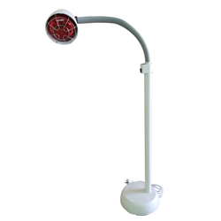 standing infrared heat lamp