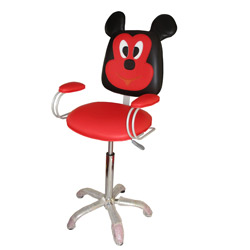 micky mouse kids chair (red)